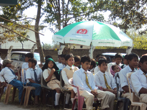 Students in NRHM