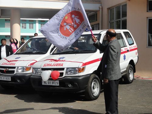 Inauguration of Ambulance